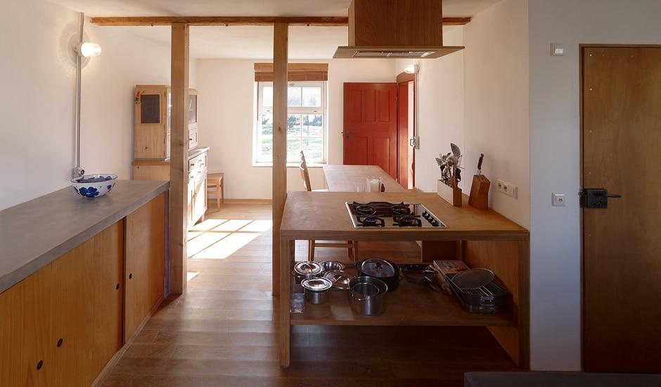 Heinrichhaus: Küche und Esszimmer