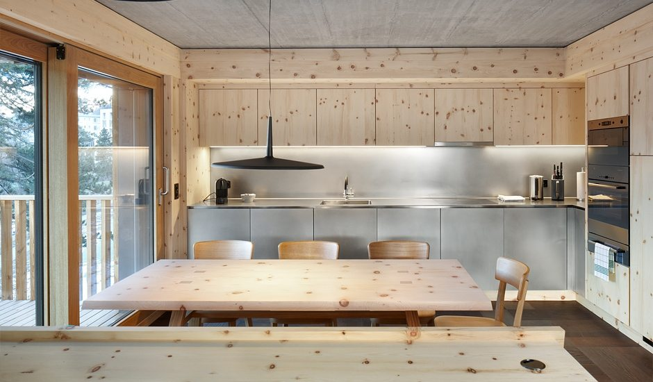 Innenarchitektur Engadin alpine lodge chesa al parc urlaubsarchitektur holidayarchitecture