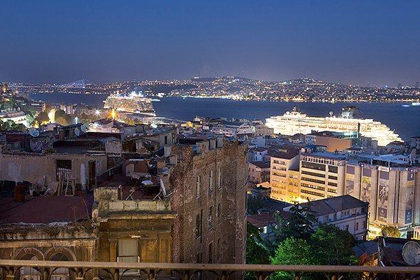 Ausblick auf Istanbul