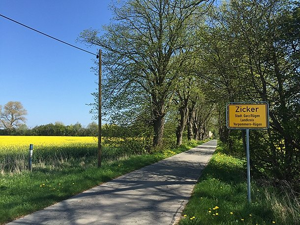 Rügen countryside
