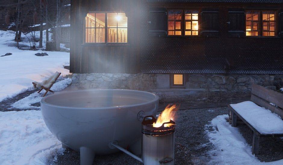 Schnepfegg 52: Dampfende hot tub