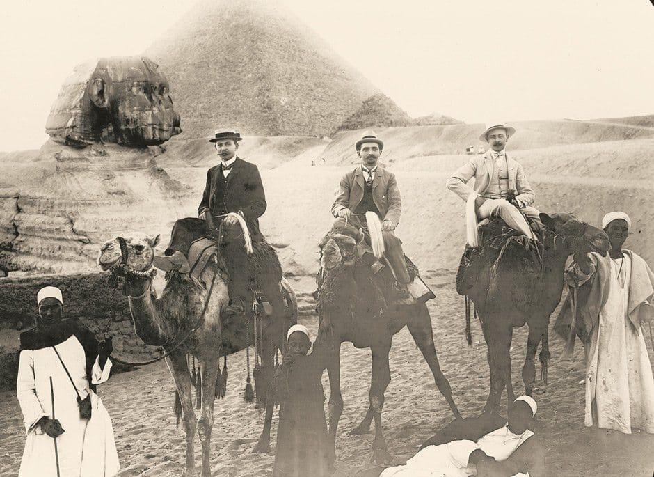 HomeStory Parkhotel Holzner: Hans Holzner in Aegypten