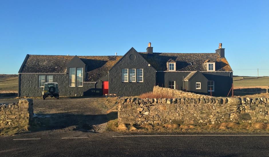 Tigharry Schoolhouse: Das Haus