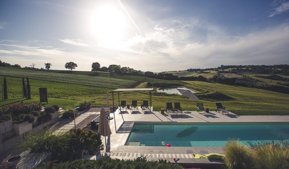 Corte Campioli: Pool