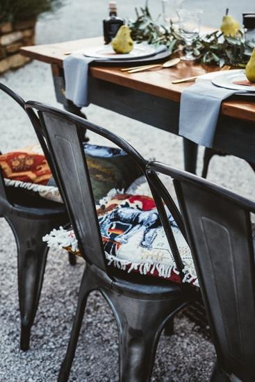 Corte Campioli – Das Leben ist eine Wundertüte: Detail Tischdeko