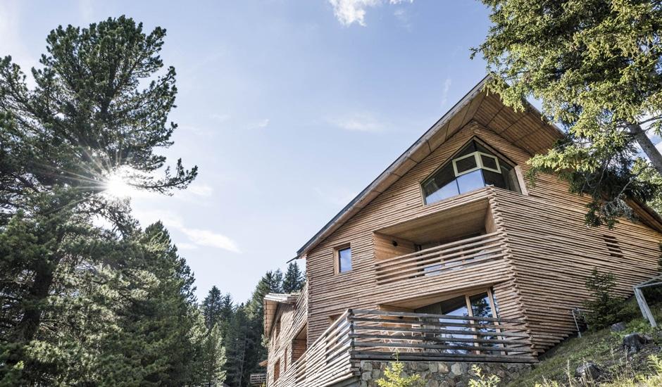 Odles Lodge: Aussenansicht