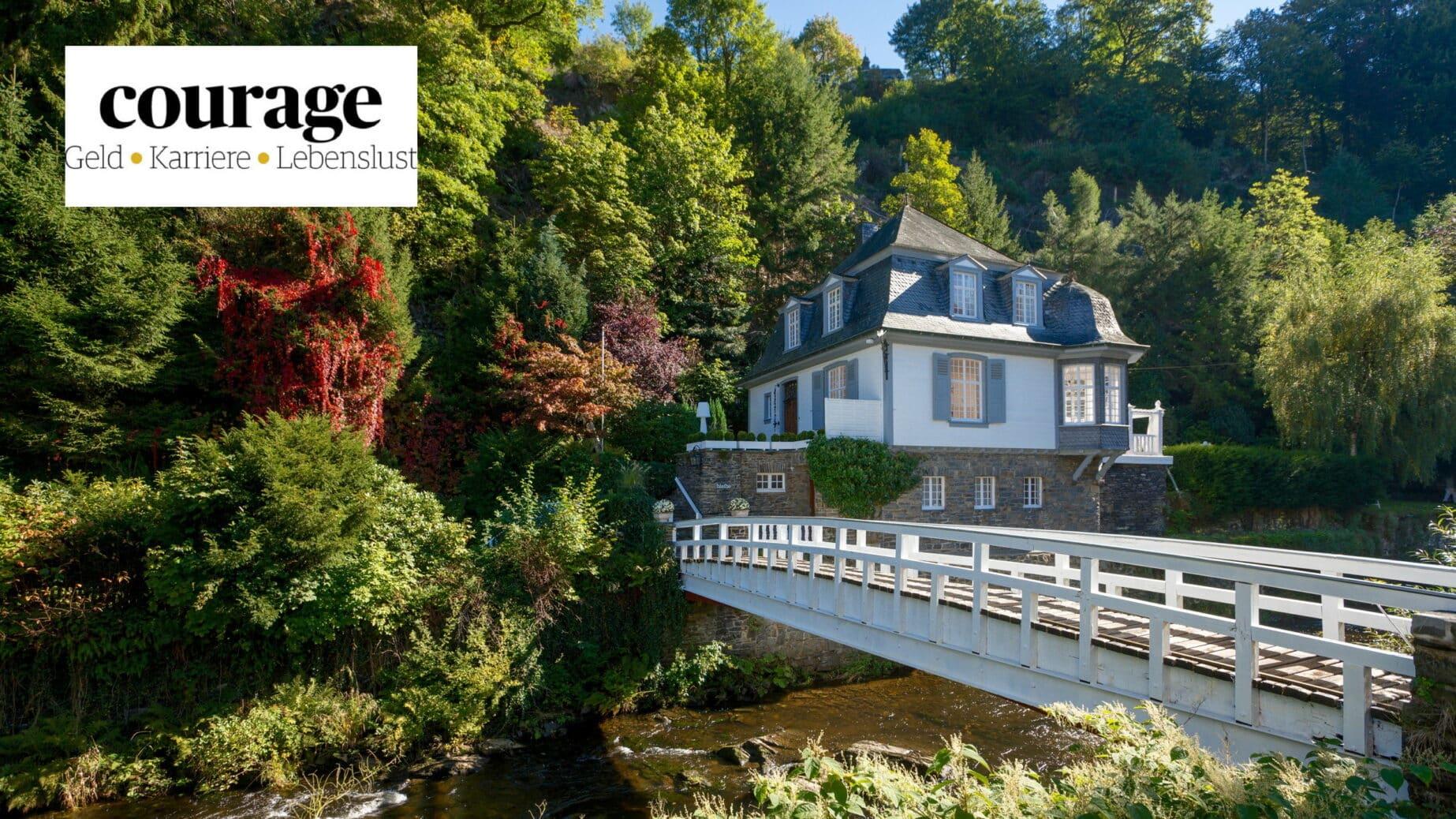Urlaubsarchitektur im Magazin Courage